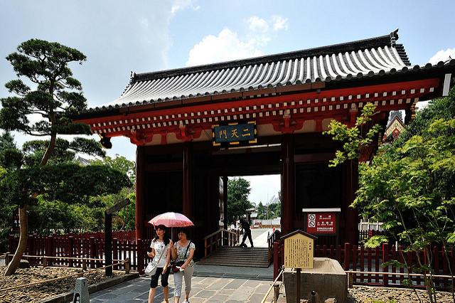 Cổng Niten mon - Akaryn via Flickr