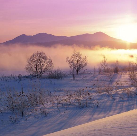 Vẻ đẹp thơ mộng của Nhật Bản vào mùa đông