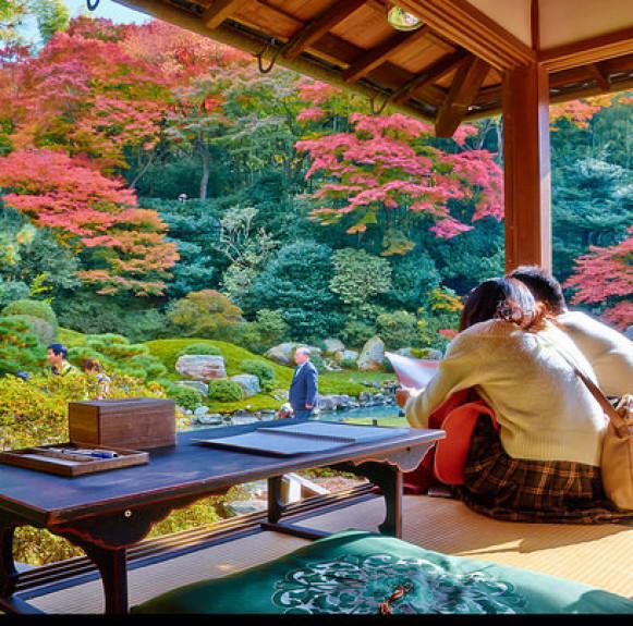 Đi du lịch Kyoto trong mùa Diễm Thu qua